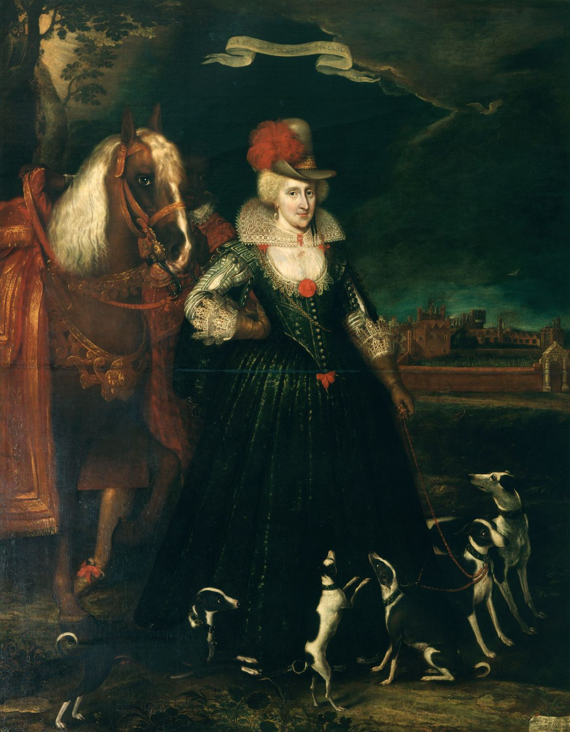 Portrait of Anne of Denmark by Paul van Somer. Image courtesy of the Royal Collection (UK).