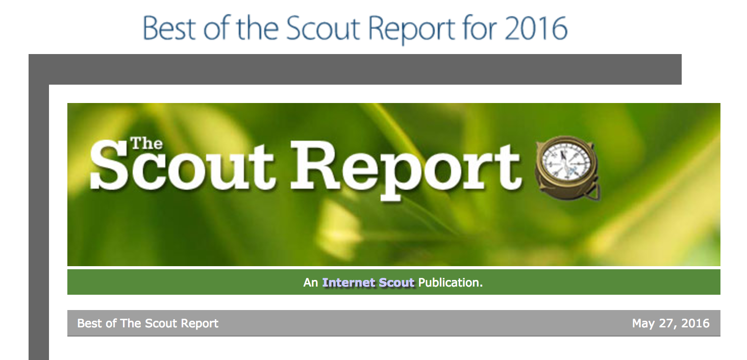 Scout Report Banner