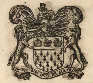The coat of arms of the Skinners' Company, from Stow (1633). [Full size image]
