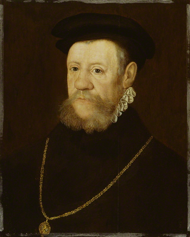 Henry Fitzalan, 12th Earl of Arundel by Unknown Anglo-Netherlandish artist. © National Portrait Gallery, London.