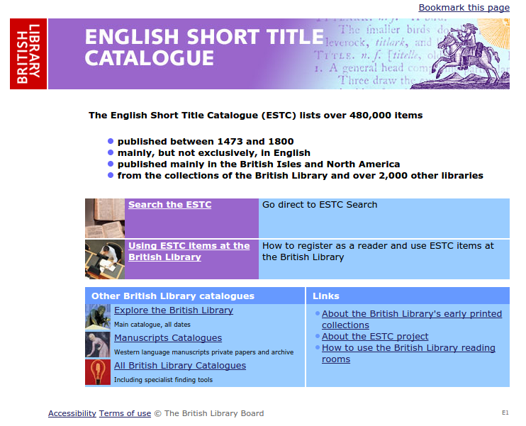 English Short Title