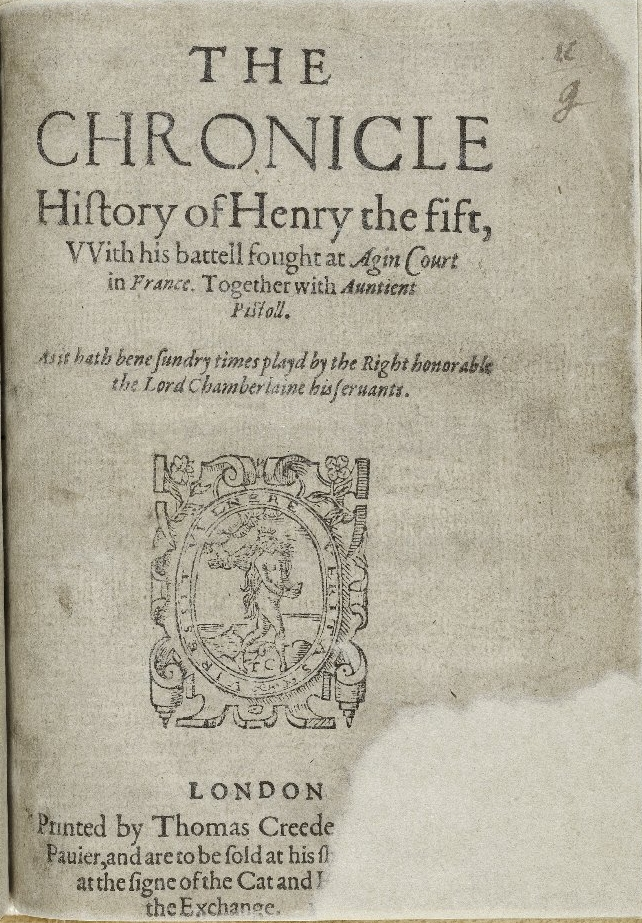 Title page of STC 22290. Image courtesy of LUNA.