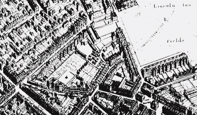 The Cockpit may be the large building