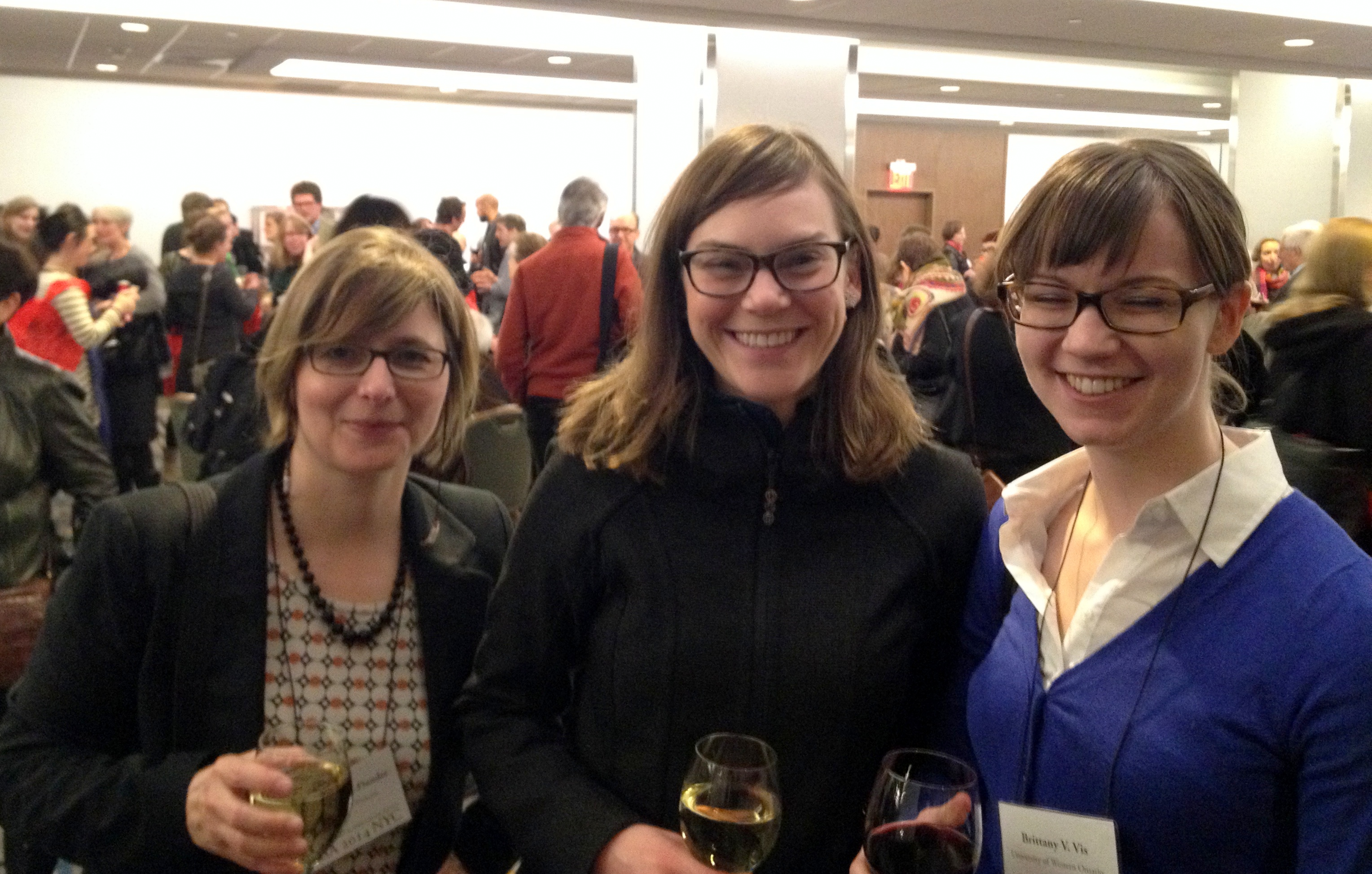 Kim @ the RSA Opening Reception with some