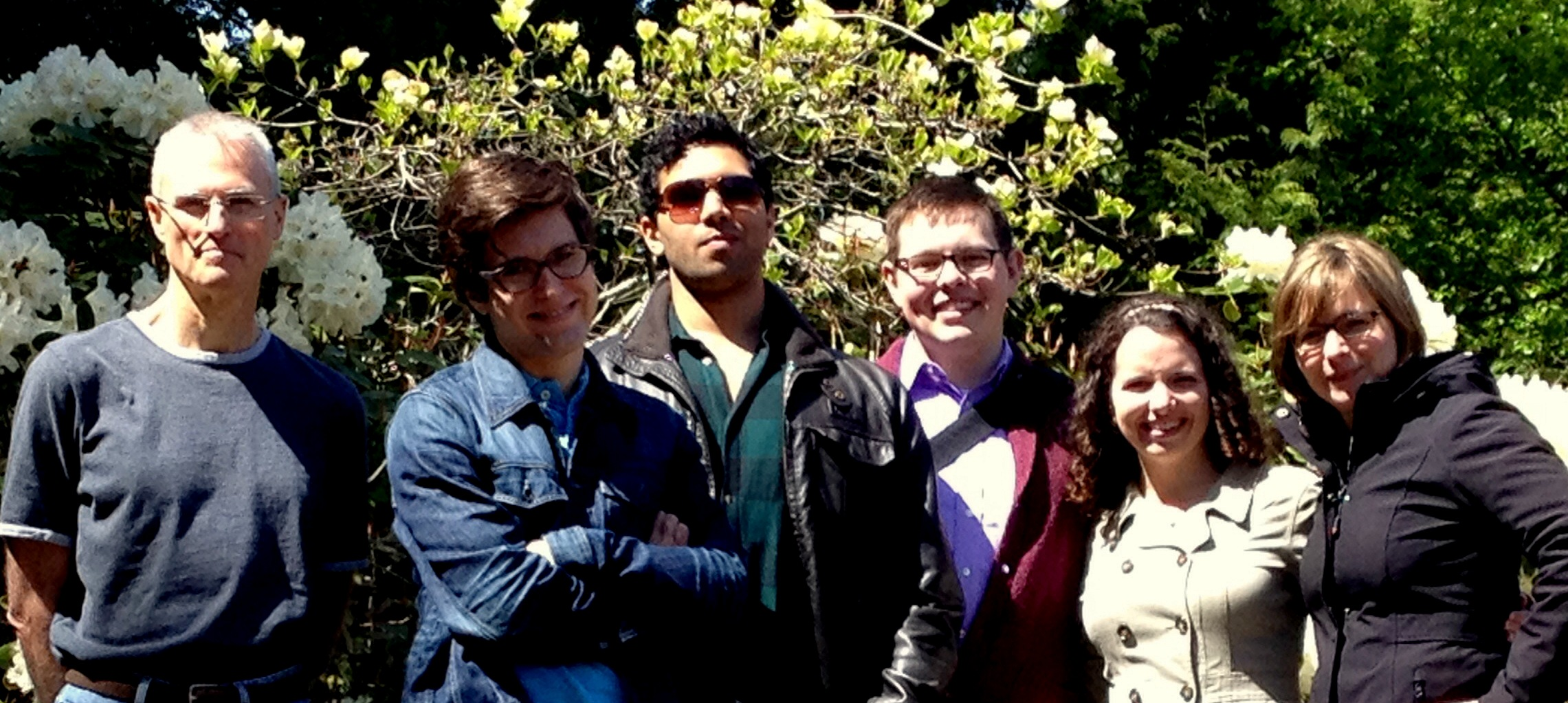 L-R: Martin, Tye, Zaqir, Nathan, Sarah, and Kim after our recent